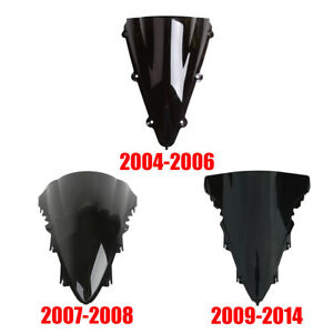 Dual Bubble Windshield For YAMAHA YZF-R1 YZF R1 2004-2006 2007-2008 2009-2014
