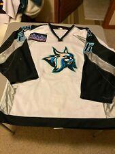 Augusta Lynx Game worn home  Hockey Jersey #26 Lauzon OT 56 LOA '99 drft #116