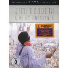 "Jimi Hendrix ""Live at Woodstock"" 2 DVD NUOVO"
