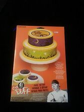 Halloween Cupcake Cake Decorating Duff Discontinued Edible Tattoos Rare  NIP