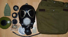 Russian Army PMK 2 Gas mask with filter, canvas bag, full kit new, army stamp