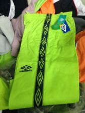 UMBRO TRACKSUIT TOP IN GREEN OR ORANGE IN X/S SMALL  AT £10 POLYESTER