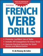 French Verb Drills-ExLibrary