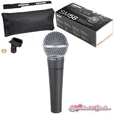 Shure SM58 Vocal Dynamic Live and Recording Microphone SM58-LC