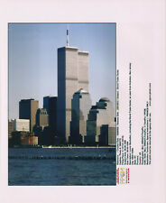 Tours jumelles World Trade Center New York Original Vintage 12 septembre 2001