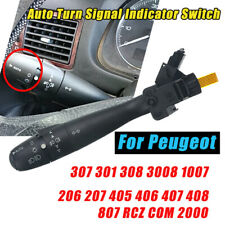 Auto Turn Signal Switch For Peugeot 307 301 308 3008 1007 206 207 405 RCZ COM