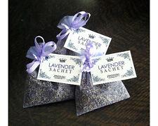 Lavender Sachet in Organza Aromatic Scent Set of 3 Closet Sleep Aromatherapy