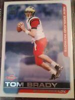 2000 Pacific Paramount Tom Brady New England Patriots #138 Football Card. Mint