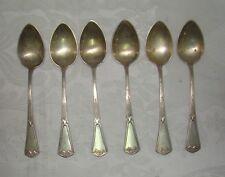 Antique German Germany Silver Spoon Spoons Set Jugendstil Art Nouveau