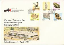 1988 Zimbabwe National Gallery Art First Day Cover