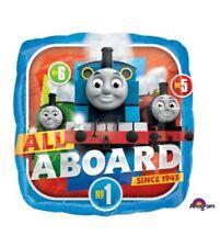 "Thomas The Train 18"" Anagram Balloon Birthday Party Decorations"