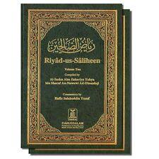 RIYAD US SALIHEEN ARABIC / ENGLISH 2 VOLUME SET BY IMAM AN-NAWAWI DARUSSALAM