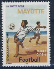 TIMBRE DE MAYOTTE N° 101 ** SPORT FOOTBALL