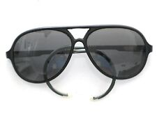 Savage Eye Glass Frames Black Rx Made In The U.S.A. Vintage 1970'S