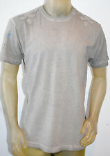 NEW REMETEE by AFFLICTION mens HERITAGE SERIES s/s BORN FREE tee gray  *LARGE