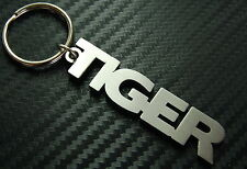 TIGER Personalised Nick Name Keyring Keychain Key Bespoke Stainless Steel Gift