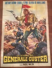 MANIFESTO,4F,La storia del generale Custer,They Died  Their Boots On,FLYNN Walsh