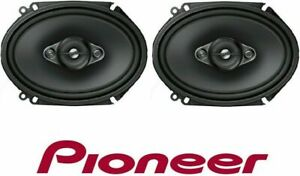 "Pioneer TS-A6880F 350 Watt 6"" x 8"" 4-Way Coaxial Car Audio Speaker 6x8"" 5"" x 7"""
