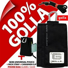 Golla Black Phone Case Pouch Bag for iPhone 4 4S 5 5S 5C SE Samsung Galaxy S2