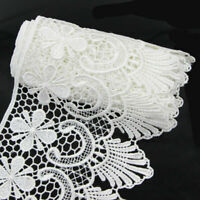Fabric Trimming 2 Yards Ribbon Craft Lace Crochet Wide Wedding Sewing Trim Edge