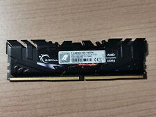 RAM 8 GB DDR4-3200 G.Skill FlareX CL14, 3200 MHz per Intel e AMD