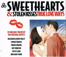 Classic Love Songs SWEETHEARTS & STOLEN KISSES - VALENTINES - 75 Tracks 3 CDs