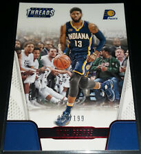 Paul George 2016-17 Panini Threads CENTURY PROOF RED Parallel Card (#'d 069/199)