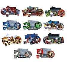 Fiesta Packs - Oficial Marvel Caracteres (Fiesta/ Cumpleaños/ Vajilla/ platos)