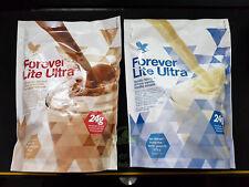 Forever Lite Ultra Chocolate & Vanilla Shake with Aminotein 13.2oz, KOSHER/HALAL
