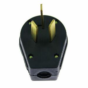1PCS* 50 Amp 220 Volt 3 Prong Plug Fit Electrical RV Welder 10-50P 125-250V