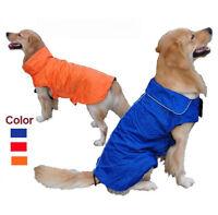 Waterproof Winter Warm Padded Pet Dog Clothes Fleece Coat Vest Jacket for Dogs
