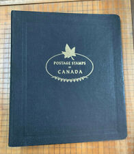 White Ace Canada Stamp Album Binder Nice Condition 3 Rings Out of Print! |