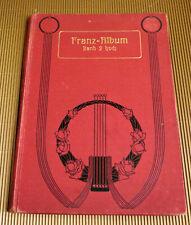 Franz-Album Band 2 für hohe Stimme und Klavier
