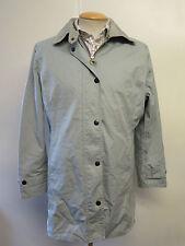 Ladies Barbour L433 Lightweight Newmarket Cotton Coat Jacket UK16 Euro 42 - Grey