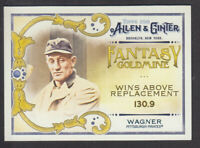 Topps - Allen & Ginter 2018 - Fantasy Goldmine FG-12 H Wagner Pittsburgh Pirates