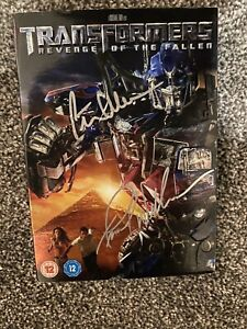 Transformers DVD Signed by Frank Welker & Peter Cullen - See Photos