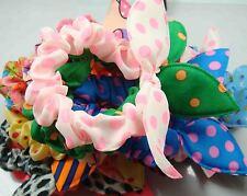 Wholesale 10pcs Lot Rabbit Ear Dots Hairband Women Hair Band Ponytail Holder b9