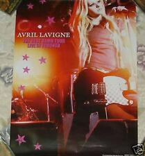 Avril Lavigne The Best Damn Tour Live Taiwan Promo Poster