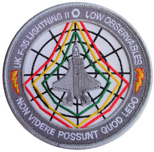No. 617 Dambusters Sqn RAF Lockheed Martin F-35 Lightning II Embroidered Patch