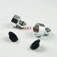 Silvr Shock head End Cap for 8mm Shock HPI BAJA 5B 5T KM Rovan rebuild part Smar
