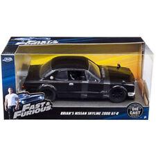 Jada Nissan Skyline GT-R 2000 Fast & Furious Brian's Black 1:24 99686