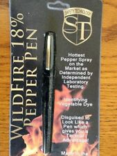 PEPPER SPRAY PEN .5oz Pepper WILDFIRE Strength Self Defense NEW