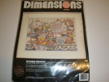 Dimensions Crewel Embroidery Kit Victorian Treasures Susan Winget Open/New