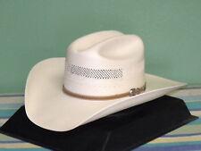 STETSON ARAPAHO 10X SHANTUNG PANAMA STRAW COWBOY WESTERN HAT