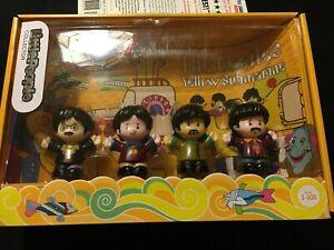 Fisher-Price  Little People: The Beatles Yellow Submarine Figures- NIB