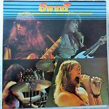 SWEET LP THE ROCK YEARS 1987 UK VG++/VG++