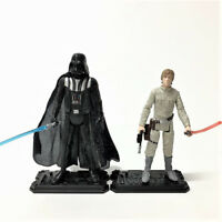 "2pcs Star Wars LUKE SKYWALKER &DARTH VADER THE EMPIRE STRIKES BACK 3.75"" figure"