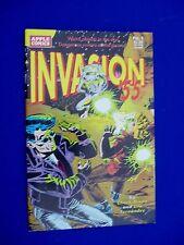 Invasion 55 complete set 1-3.  Sci Fi. 1st printing. VFN.
