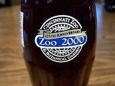 CINCINNATI ZOO & BOTANICAL GARDEN, 125TH  ANNIVERSARY, 1 - 8 Oz Coke Bottle