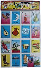 """MEGA Loteria Mexican Bingo SUPER SIZED Boards 25"""" X 18"""""""